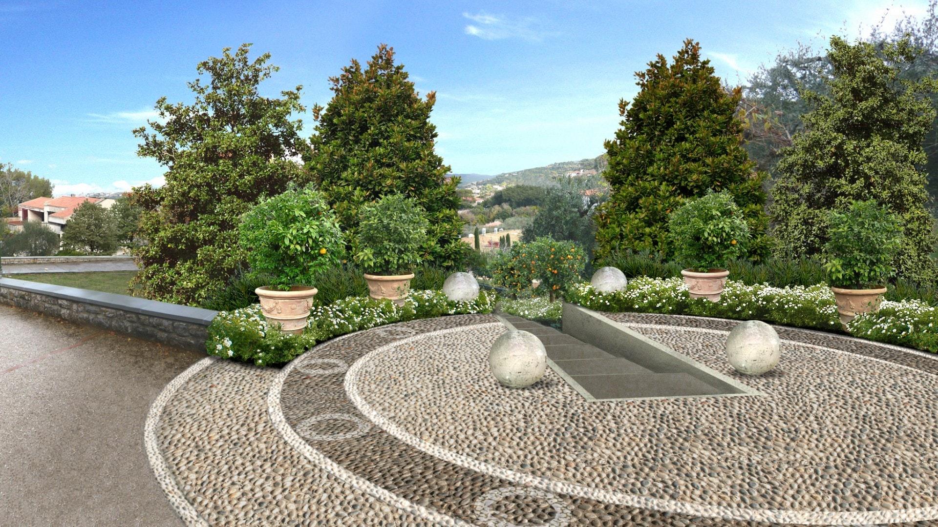 Giardino privato livorno una terrazza privilegiata sul - Progetto giardino privato ...