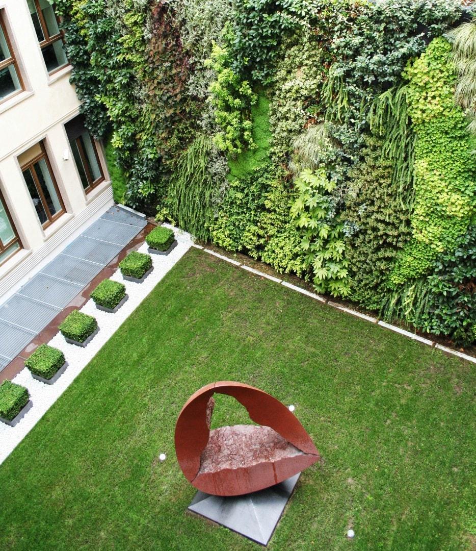 Architetto Di Giardini grandi giardini verticali: l'ultima tendenza dell