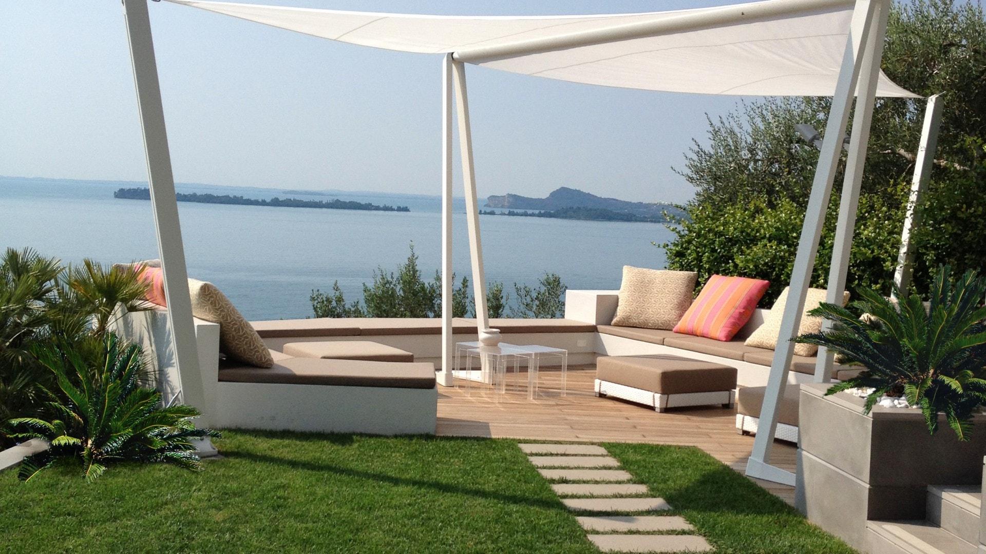 Giardino Zen Lago Di Garda : Giardino sul lago di garda progettazione giardini