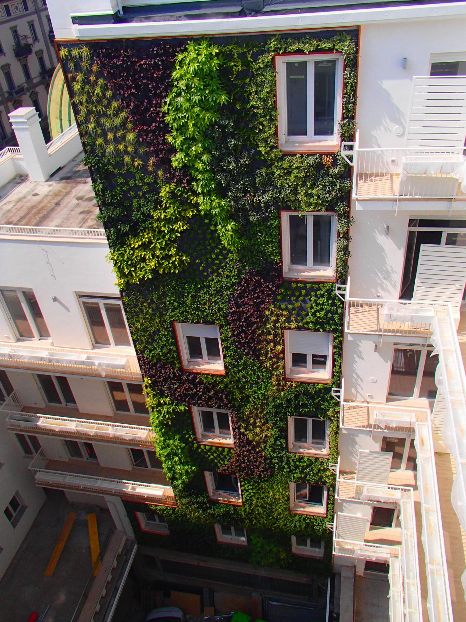 Favoloso Giardini Verticali - Sandrini Green Architecture KU27