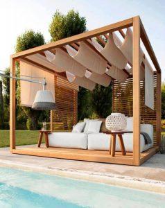 Il gazebo: un elemento di design per terrazze e giardini