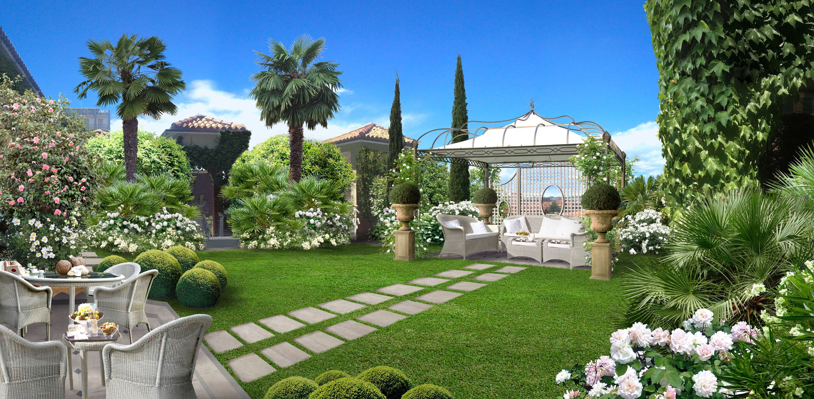 Casa moderna roma italy soluzioni giardino - Soluzioni giardino ...