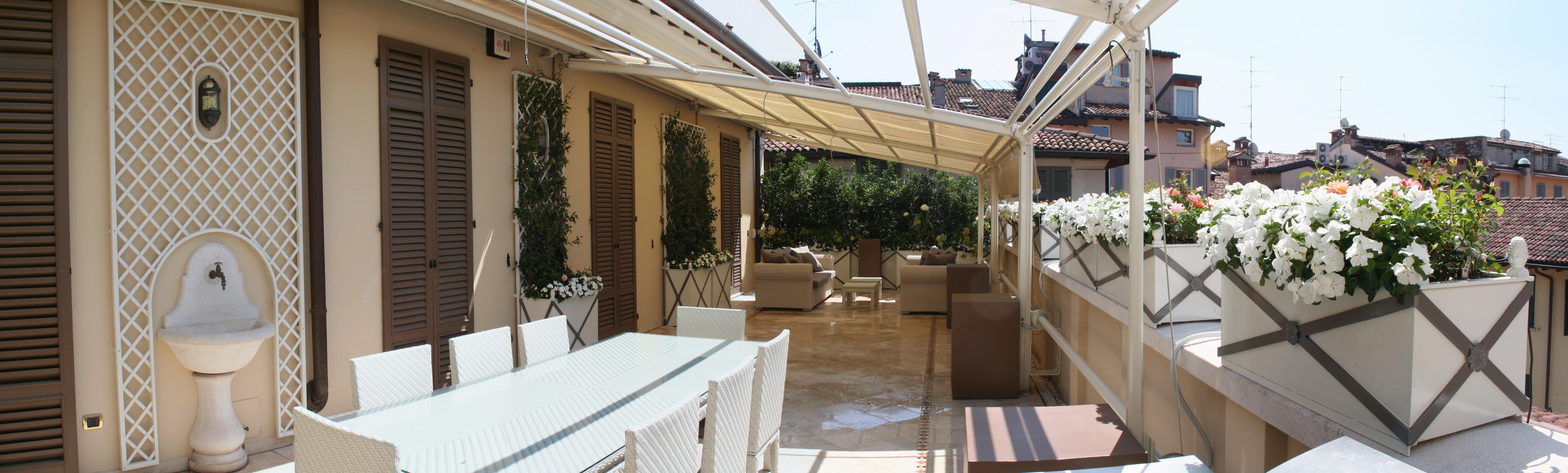 Brescia. terrazza privata   progettazione giardini   soluzioni di ...